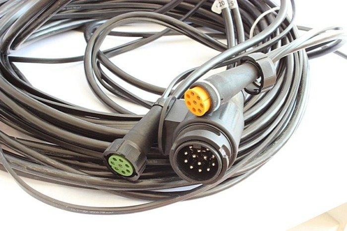 Ledningsnet til trailer og autotrailer elektriske installation 13-polet