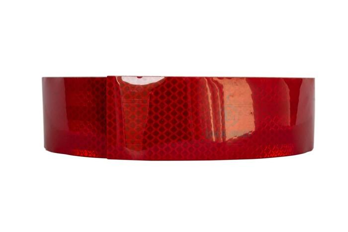 Rød reflekstape - rulle